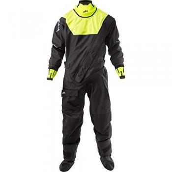 Zhik Racing Drysuit Dry Suit Black - Cómodos Tirantes internos Traje Dry 3 Capas Impermeable Sprayproof - Unisex