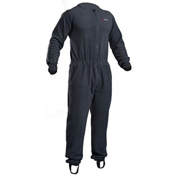 2018 Gul Radiation Drysuit Undersuit Fleece Technical Onesie CHARCOAL GM0283-B3 Sizes- - Medium